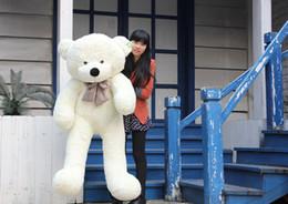 High quality Low price Plush toys large size100cm   teddy bear 1m big embrace bear doll