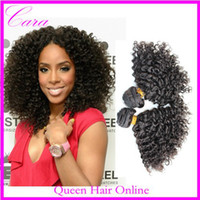 Wholesale Brazilian Peruvian Malaysian Indian Mongolian virgin kinky curly hair or Cara unprocessed human hair extension natural black