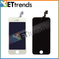 Wholesale New Arrival Complete Screen LCD amp Touch Screen Digitizer Full Assembly for iPhone S Black White AA0438