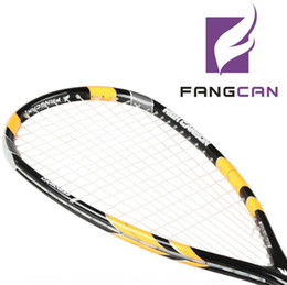 Promotion FANGCAN Full Carbon DARKNESS 7 for Professional, 2pcs Squash Racket + 2pcs racket case + 2pcs squash ball, Light weight