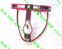 Wholesale Bdsm fatory color can select Female Adjustable Model Y Stainless steel belt Chastity Devices Chastity belt