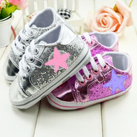 Wholesale Brand strars canvas baby shoes Fashion Infant shoes Kids First prewalkers shoes girls pairs Seek For