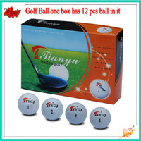 Wholesale 2013 new top quality Dozen new golf balls balls in one box hk post TTYGJ1