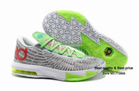 Hight Cut Men Spring and Fall Fast Shipping 2013 High Quality Famous Player Kevin Durant KD VI 6 basketball shoes KD V 5 shoes men athletic shoes size 41-47