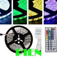 Wholesale Express delivery Christmas LED Strip RGB Flexible tape LED M non waterproof V Car Home Key Controller