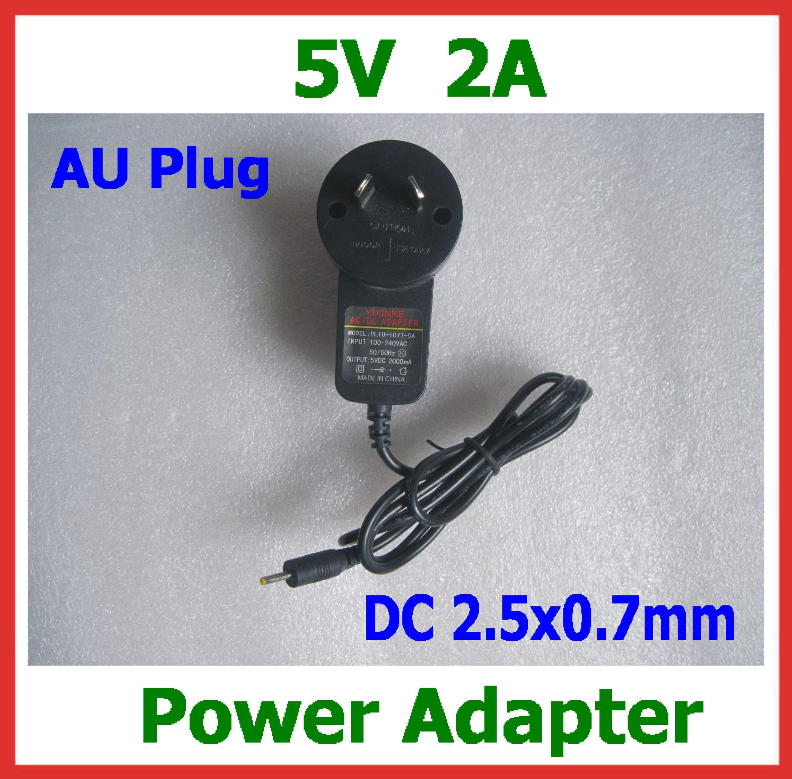 Buy 5V 2A Power Adapter AU Plug Charger Tablet PC Cube U25GT U9GT3 U9GT4 U35GT2 U39GT U18GT, Mini U30GT, Chuwi V88 / V10, Q88 DC 2.5x0.7mm