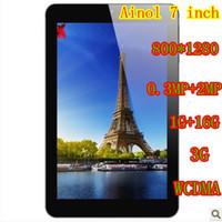 Wholesale Sell Ainol Novo Eos G Android Tablet PC inch IPS MP MP GB RAM GB ROM bluetooth Phone Call WCDMA hk post