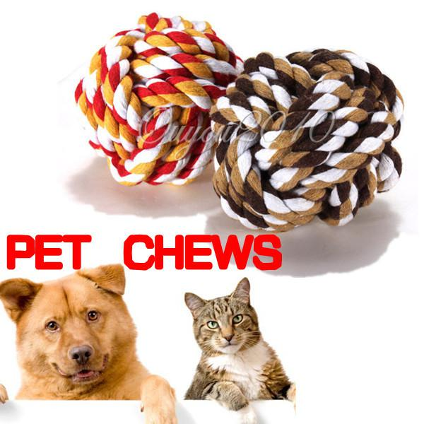 Knot Ball Dog Toy Chew