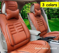Wholesale 3061901 Colors Quality Full Leather Cloak Seat Covers for Cars Seat Cover Set Car Seat Cover Universal Fast Shipping
