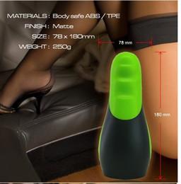 Wholesale Hot selling Masturbation cup Automatic Masturbator Oral sex Toy Masturbator male Free Quick Shipping