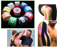 Wholesale 1 Roll m x cm Kinesiology Sports Muscles Care Elastic Physio Therapeutic Tape