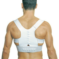 Back   Magnetic Posture Support Corrector Back Pain Feel Young Belt Brace Shoulder