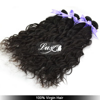 Wholesale 100 Eurasian Virgin Hair Luxy Hair A Water Wave Hair Extensions Natural Color Double Weft Factory Price by DHL