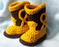 Unisex baby cowgirl boots - New Arrival Christmas Hot Baby cowgirl boots baby cowboy boots Baby First Walker Shoes