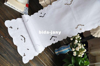 cotton table runner - Clearance Portugal Handmade cotton Table runner