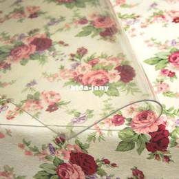 Wholesale Pvc transparente mesa de aceite de vidrio blando x100cm espesor mm placa de cristal estera mesa mantel de tela de pvc cmW L