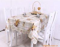 other pvc table cloth - Size cm Table Cloth Home Textile flower color tablecloth PVC tablecloths