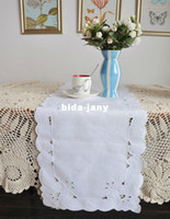 Wholesale Clearance Set of cotton emrbroidery table runner X72 quot x176cm