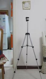 Descuento soportes de cámaras digitales Trípode de cámara Cámara digital soporte portátil cámara DV cabeza del trípode teléfono trípode libres del soporte