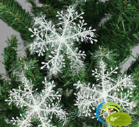 Wholesale Hot Sales Christmas Tree Decoration Silver Wire Snowflake Christmas Tree Exquisite Pendant