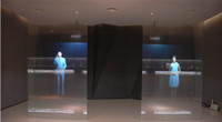 Wholesale rear holographic projection screen film square meters m m hot selling