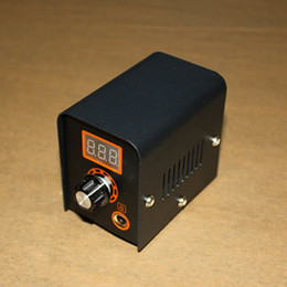 Wholesale new arrival tattoo power box supply for tattoo machines guns for tattoo supplier