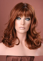 Wholesale Gorgeous quot quot Wave Glueless Swiss Lace Front Human Hair Wigs Indian Remy Hair GLW001
