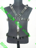 Restraints Clothing Unisex  BDSM FATORY Bondage Body Harness Adult Alternative Toy Stimulate SM bound Leather systemic Set
