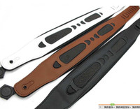 bass guitar strap - Super Qulity thick brown genuine leather Guitar straps Bass straps Guitar belt