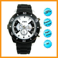 None 1280*720P 1600*1200 1280 x 720P Real Wrist Watch Spy Watch Camera IR Night Vision Video Audio Photo PC Function Hidden Camera Recorder