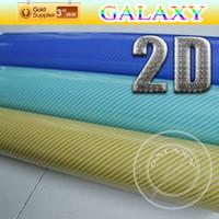 Wholesale D Carbon Fiber Vinyl Wrap Film Glossy Fiber Vinyl Film Without Air Free Bubbles x5000cm