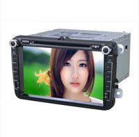 Wholesale Volkswagen Polo Jetta Golf Caddy Amark Passt Bora Skoda Special din Dual DVD Player Built in GPS Navigation TV IPOD BT Radio Car DVD player