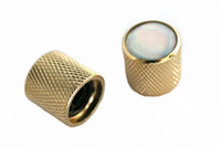 Wholesale Gold Volume Tone Control Knob for Electric Guitar White EPMC Decoration