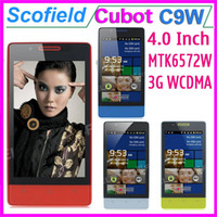Wholesale CUBOT C9W Inch Android Cell Phone MTK6572W G WCDMA Dual Core M ROM BlueTooth Android