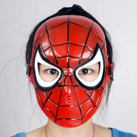adult surprise party - Surprising Halloween Masquerade Party Full Masks adults kids Spiderman Mask Cosplay cartoon mask