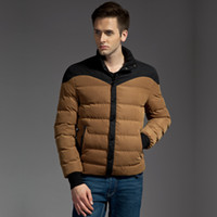 Wholesale fashion men wool jacket mens winter outerwear mens leisure warm coat outerwear wadded down jacket
