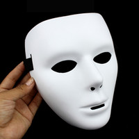 Wholesale Popular Shuffle Dance Hip hop Mask JabbaWockeeZ Blank men women Face Mask Halloween Party Mask