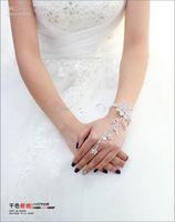 the bride bracelet even night chrysanthemum Korean diamond w...