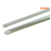 T8 9w 2835 Hot sale T8 600mm 0.6M 2 feet 9W LED tube light LED fluorescent tube lamp 2835 85-265V high brightness wholesale Price youmyelectec1688