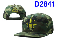 Wholesale 1PCS Epacket Free Camo HUF Snapback Hats H camo huf hats and caps snapbacks Adjustable Huf hat top quality D2841