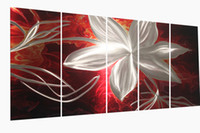 Wholesale Modern contemporary abstract painting metal wall art sculpture wall hanging decorations A00327