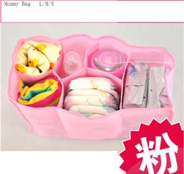 Wholesale Baby Diaper Bag Baby Feeder Bottle Holder Mummy bag Carrier Storage bag Organizer Pouch Handbag Nappy bag Mama bags colors CM