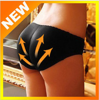 Wholesale Charming Sexy Women Padded Seamless Butt Hip Enhancer Shaper Panties Underwear W3103