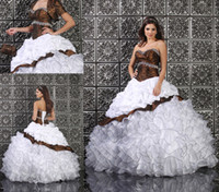 Wholesale Upscale Leopard Print Ball Gown Quinceanera Dress Formal Gown Sweetheart Crystals Beaded Satin Organza Fabric Lace Up Back With Jacket Hot