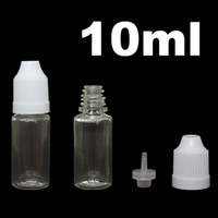 Wholesale 10ml plastic dropper bottle with child proof lid eyedropper bottle squeeze dropper container factory price