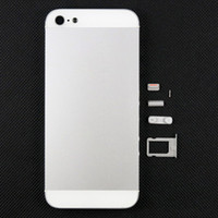 Wholesale For iPhone G Battery Door Cover Back Cover Back Housing With Side Keys and SIM Card Holder Tray Black White Best Quality