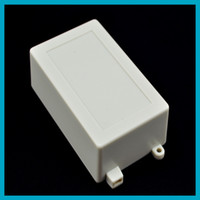 Wholesale pieces Electronic Case Diy White Plastic Project Box mm L W H