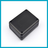 Wholesale 1 peice Electronic Case Diy Black Plastic Project Box mm L W H