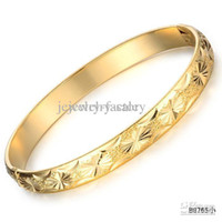 fashion jewellery 18k gold Bracelet Promotion new bangle bri...