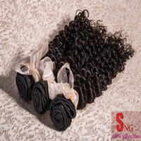 Cheap Free Shipping unprocessed virgin malaysian hair weave 5A virgin Afro Kinky curly hair 3pcs lot mix length 8-28inch natural color